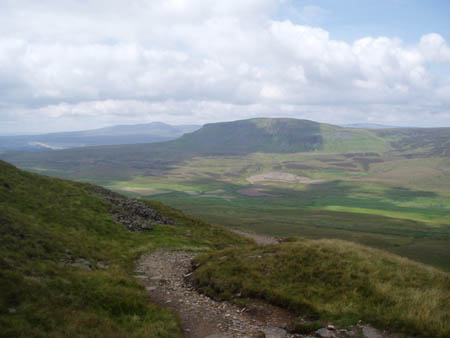 Penyghent from Fountains Fell